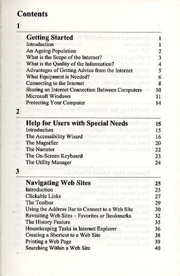 Finding Advice from the Internet for the Older Generation (Paperback)
