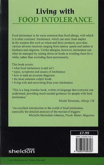 Living with Food Intolerance (Paperback)