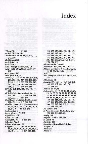 crusades thru arab eyes A useful list of significant dates from amin maalouf's the crusades through arab  eyes unlike the majority of crusade timelines, maalouf's.