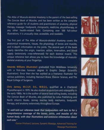 The Atlas of Musculo-skeletal Anatomy (Hardback)