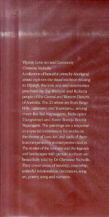 Yilpinji Love Art and Ceremony (Hardback)