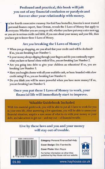The Laws of Money: 5 Fail Safe Secrets for a Life of Wealth (Paperback)