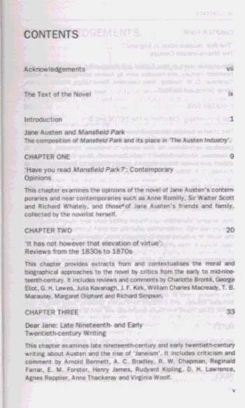 Jane Austen-Mansfield Park - Readers' Guides to Essential Criticism (Paperback)