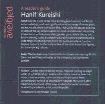 Hanif Kureishi - New British Fiction (Paperback)