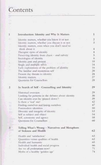 Counselling and Identity: Self Realisation in a Therapy Culture (Paperback)