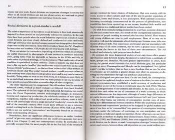 Social Divisions (Paperback)