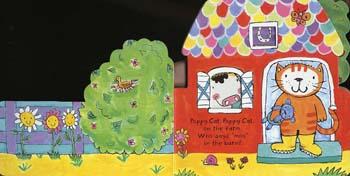 Poppy Cat's Farm (Board book)