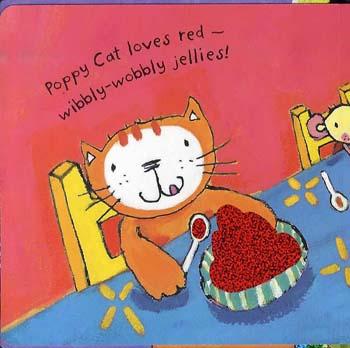 Poppy Cat Loves Rainbows (Hardback)