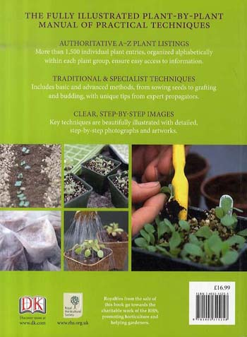 RHS Propagating Plants: How to Create New Plants For Free (Paperback)