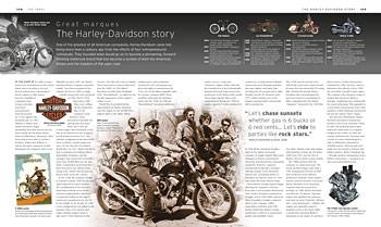 The Motorbike Book: The Definitive Visual History (Hardback)