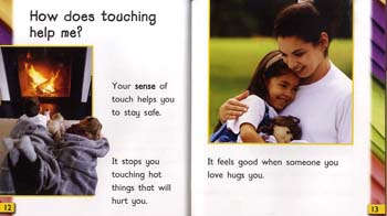 Touching - Read and Learn: Super Senses (Hardback)