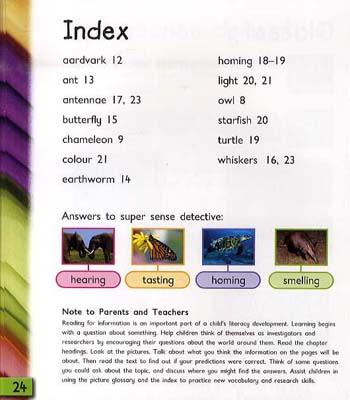 Animal Senses - Read and Learn: Super Senses (Hardback)