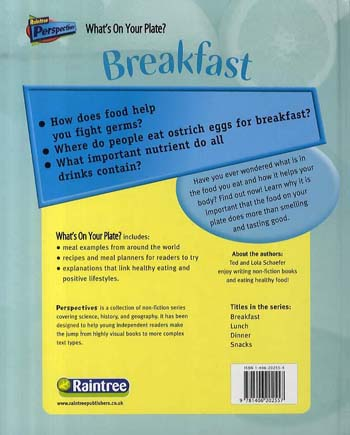 Breakfast - Raintree Perspectives: What's On Your Plate? (Hardback)