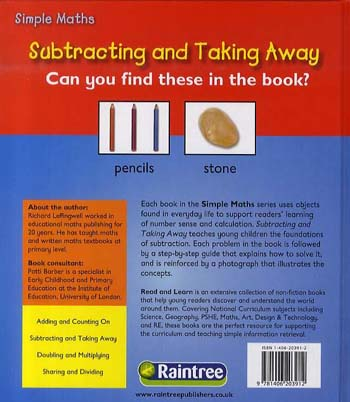 Subtracting - Read and Learn: Simple Maths (Hardback)
