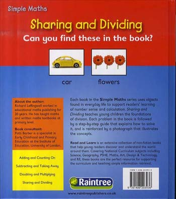 Sharing - Read and Learn: Simple Maths (Hardback)