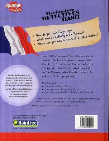 France - Raintree Freestyle Express: Destination Detectives (Hardback)