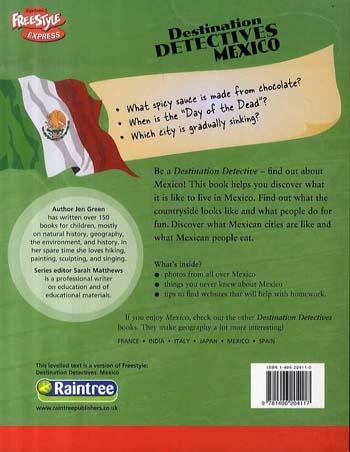 Mexico - Raintree Freestyle Express: Destination Detectives (Paperback)