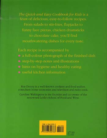 Quick And Easy Cookbook For Kids (Paperback)