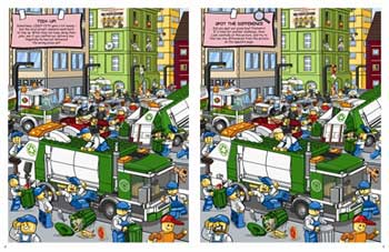 LEGO CITY Where's the Pizza Boy? A Search-and-Find Book (Paperback)