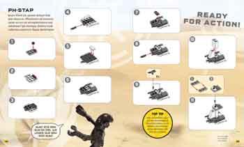 LEGO Star Wars Brickmaster Battle for the Stolen Crystals (Hardback)