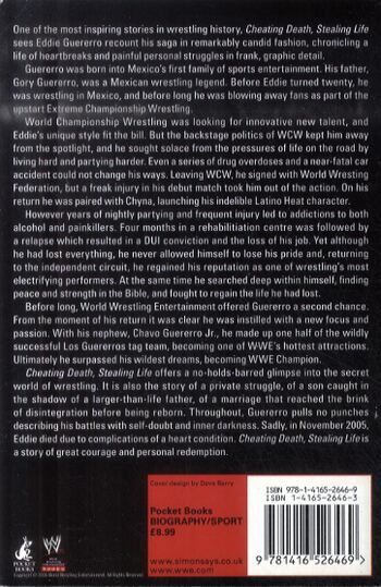 Cheating Death, Stealing Life - WWE (Paperback)