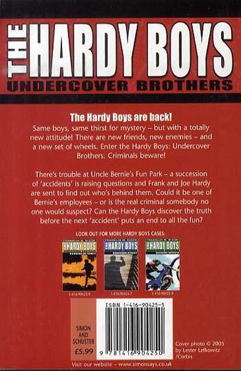 Thrill Ride - Hardy Boys 4 (Paperback)