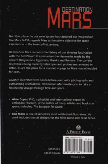 Destination Mars (Hardback)