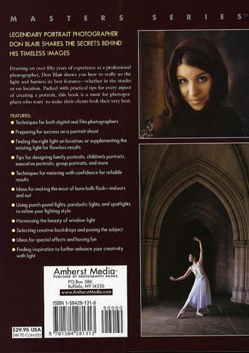 Portrait Photography: The Art of Seeing Light (Paperback)