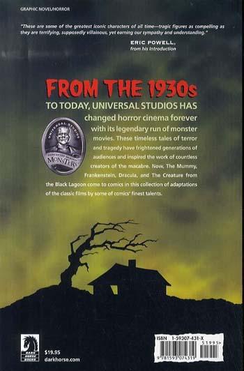 Universal Monsters Calvacade Of Horror (Paperback)