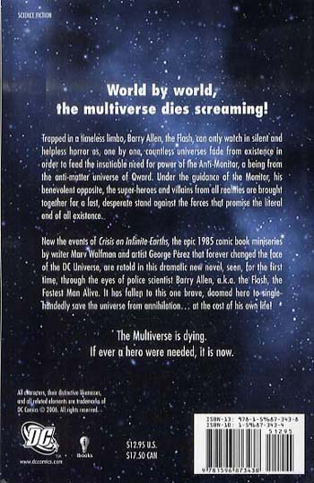 Crisis on Infinite Earths (Paperback)