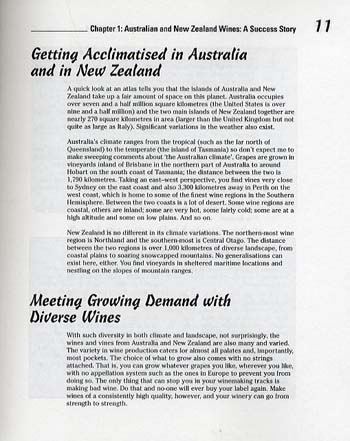 Australian and New Zealand Wine For Dummies (Paperback)