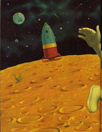 Man on the Moon: a day in the life of Bob - Bartram, Simon Series (Paperback)