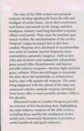 Illustrated Guide to Combat Weapons (Paperback)