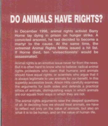 Do Animals Have Rights? (Paperback)