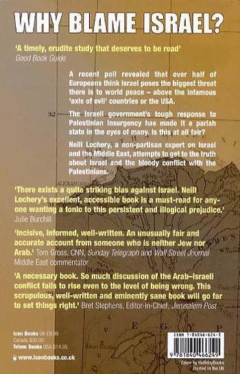 Why Blame Israel?: The Facts Behind the Headlines (Paperback)
