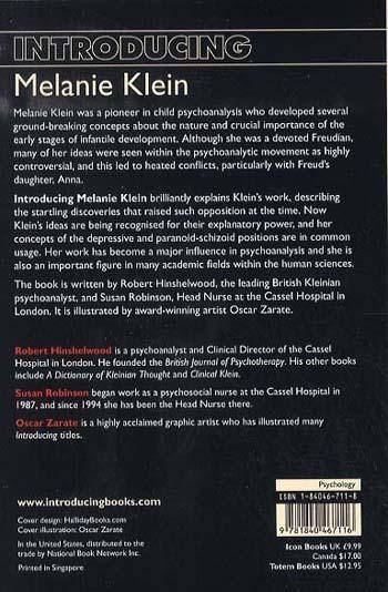 Introducing Melanie Klein (Paperback)