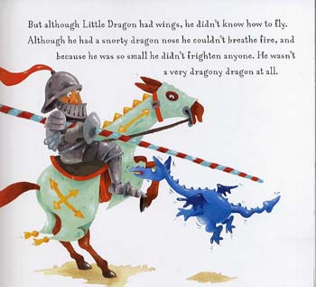 The Dragon Who Couldn't Do Dragony Things - Little Dragon (Paperback)