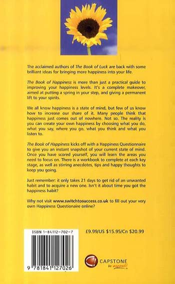 The Book of Happiness: Brilliant Ideas to Transform Your Life (Paperback)