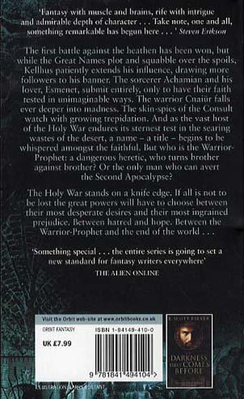 The Warrior-Prophet: Book 2 of the Prince of Nothing - Prince of Nothing (Paperback)