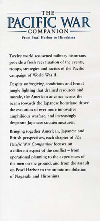 The Pacific War Companion: From Pearl Harbor to Hiroshima (Hardback)
