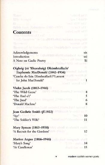 Modern Scottish Women Poets - Canongate Classics (Paperback)
