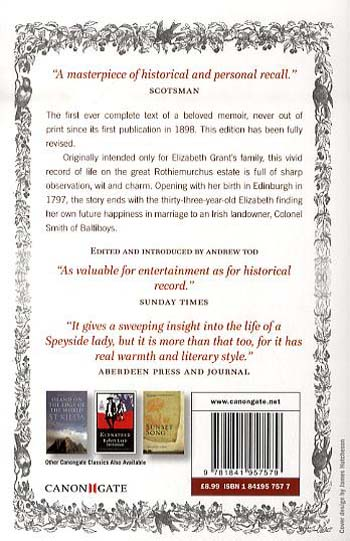 Memoirs Of A Highland Lady (Paperback)