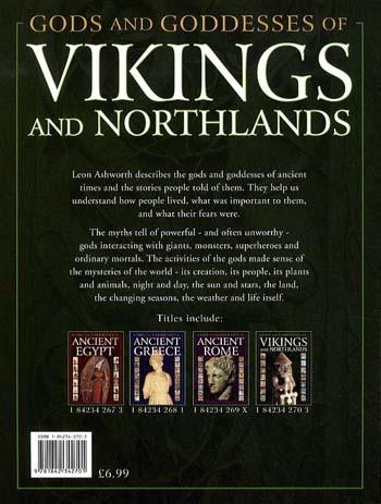Vikings and Northlands - Gods & Goddesses S. (Paperback)