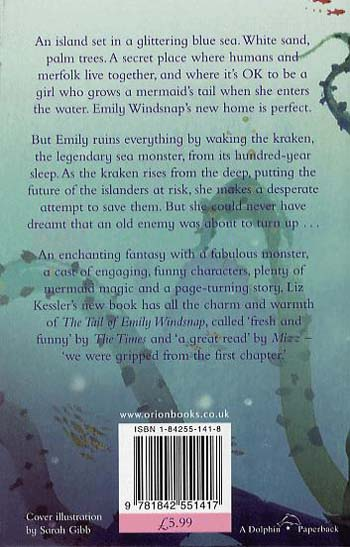 Emily Windsnap and the Monster from the Deep: Book 2 - Emily Windsnap (Paperback)