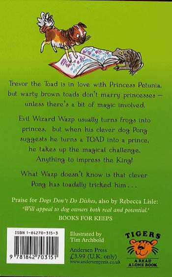 Toad Prince - Tiger Series (Paperback)