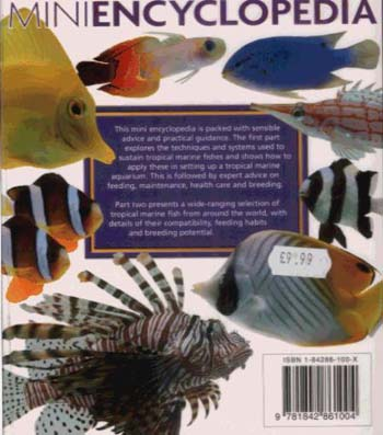 Mini Encyclopedia of The Marine Aquarium (Paperback)