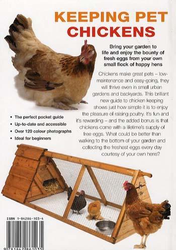Keeping Pet Chickens (Hardback)