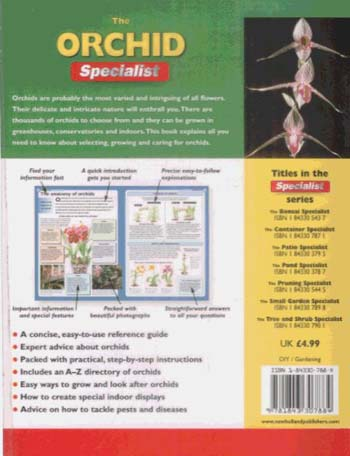 The Orchid Specialist - Specialist Series (Paperback)
