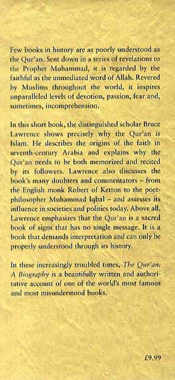 The Qur'an: A Biography - Books That Shook the World S. (Hardback)