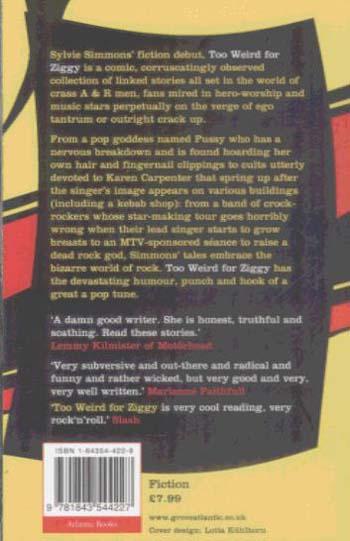 Too Weird for Ziggy (Paperback)
